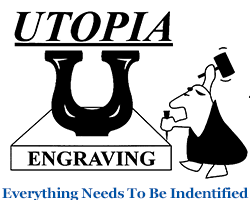 UTOPIA ENGRAVING and AAA BADGES